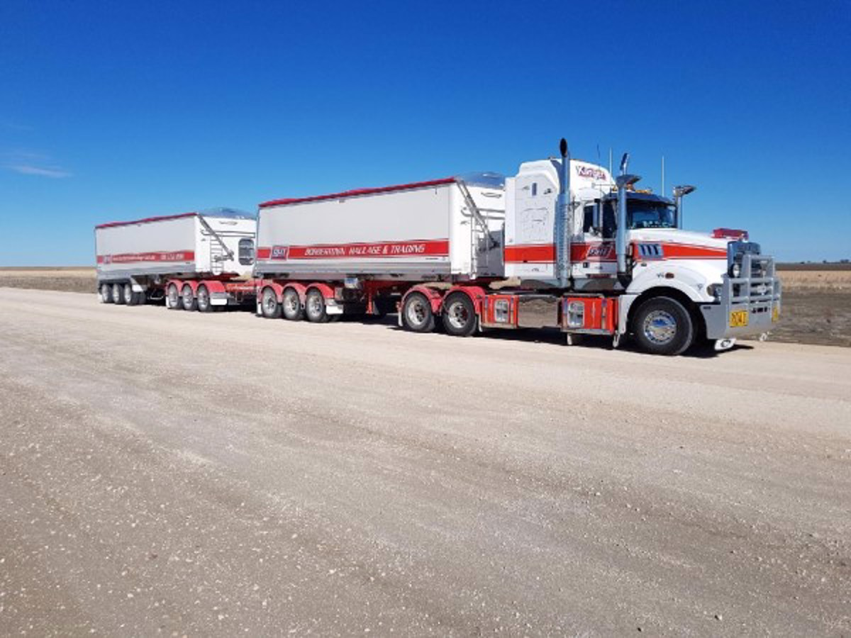 Maiden Voyage Road Train Tippers